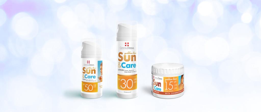 sun and care - proizvodi za sunčanje