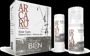 BIOON Scar Care Natural stick + Silicone gel