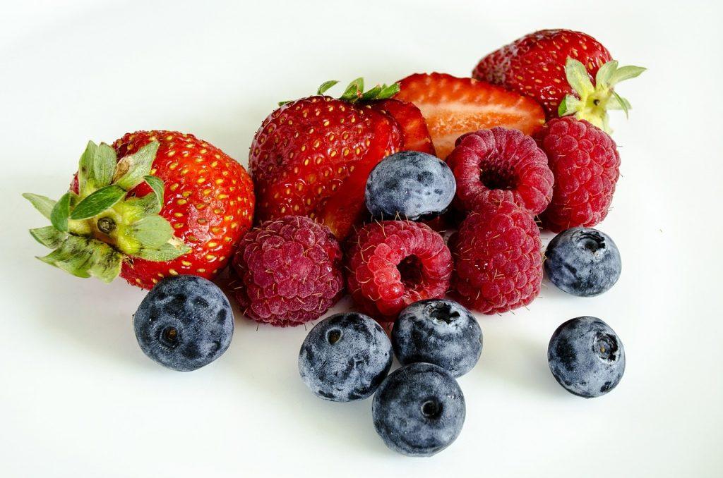 Borovnice, maline i jagode